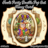 Fools Party Double Pop Out Fancy Card