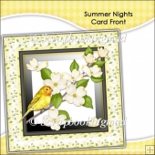 Summer Nights Card Front