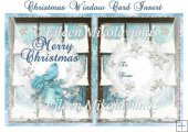 Christmas Window Card Insert