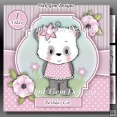 Panda Girl 2 Mini Kit With Ages 1 to 7 Years