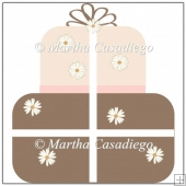 Brown and Pink Gift