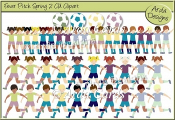 Fever Pitch Spring 2 CU Clipart