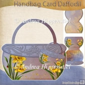 Hand Bag Card Daffodil