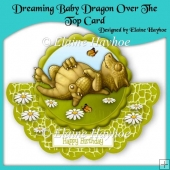Dreaming Baby Dragon Over The Top Card