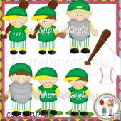 Baseball Boys 2 Designer Resource Graphic