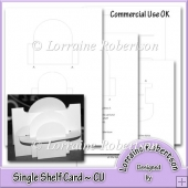 Single Shelf Card Template