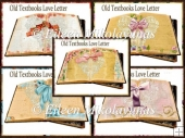 Old Textbooks Love Letters Card Inserts Set 2