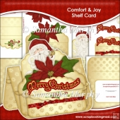 Comfort N Joy Christmas Shelf Card & Card Box