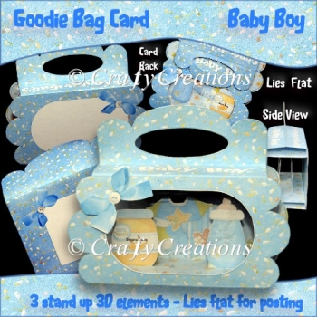Baby Boy Goodie Bag Card