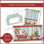 Santa's Coming Money Wallet