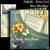 Daffodils - Pocket Card