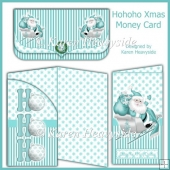 Hohoho Xmas Money Card