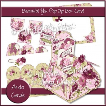 Beautiful You Pop Up Box Card