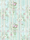 Woodgrain Floral Lace Backing Background Paper