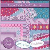 Eastern Delight Card Making Kit
