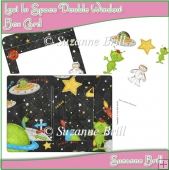 Lost In Space Double Window Box Card