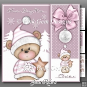 Beary Nice Christmas Pink Mini Kit