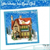 Little Winter Inn Easel Card
