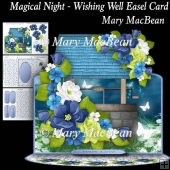 Magical Night - Wishing Well Easel Card