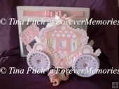 Scalloped Layered 3D Carriage & Box,SVG, ScanNCut, CRICUT, CAMEO