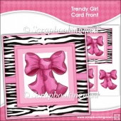 Trendy Girl Card Front