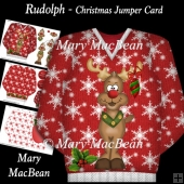 Rudolph - Christmas Jumper Card