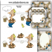 Beer Cheers Decoupage Set