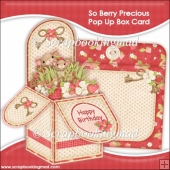 So Berry Precious Pop Up Box Card