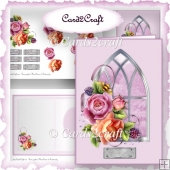 Window rose card