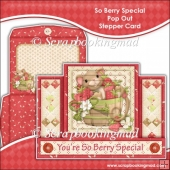 So Berry Special Pop Out Stepper Card