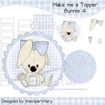 Make me a Topper - Bunnie 4(Retiring in August)