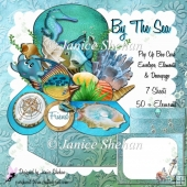 SEA OCEAN 3D POP UP BOX CARD KIT