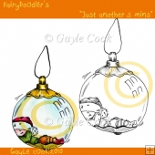"Fairydoodler's ""Just another 5 mins"" Clipart & Line Art"
