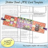Hidden Panel ATC Card Template