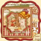 For Santa Christmas 8x8 Kit & Optional Decoupage