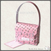 Mini Satchel Gift Box: Pink Roses