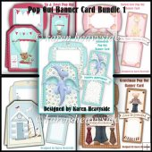 Pop Out Banner Card Bundle 1