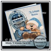 Wibble 'n Wobble Card Kit - Christmas Rocks