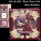 After the Ball - Flower Frame Card