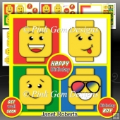 Brick Faces Mini Kit