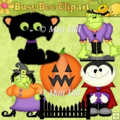 Spooky Clipart Collection