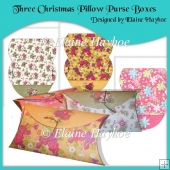 Three Pillow Purse Gift Boxes