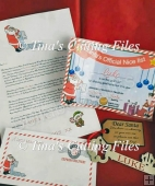 Santa's Nice List Certificate / Letter from Santa and Envelope