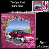 The Open Road Card Front