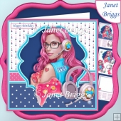 GAMER GIRL 7.5 Decoupage & Insert Mini Kit