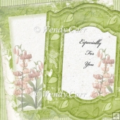RTP Shabby Chic - Floral Frames 7(Retiring in August)