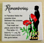 Remembrance Day , Poppy Day , Armistice Day Design cut file a