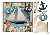 Sailing in Calm Waters Topper and Decoupage