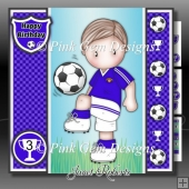 Football Andy 2 Blue Mini Kit With Ages 3 to 7 yrs