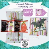 Fangtastic Halloween Twist and Pop 3D Decoupage Card Kit